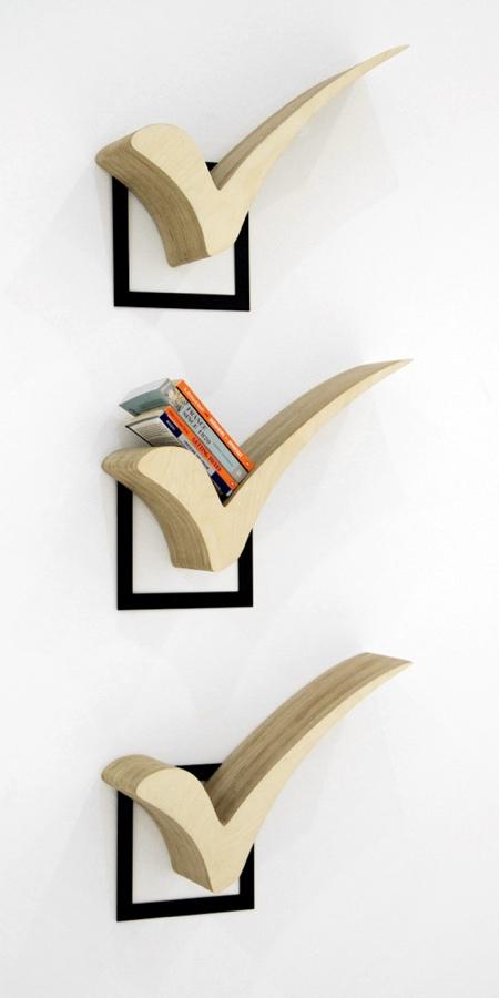 Check Mark Bookshelf