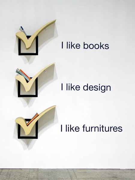 Checkmark Bookshelf