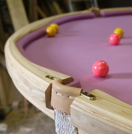 Doughnut Pool Table