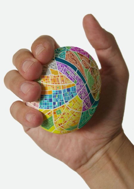 Egg Shaped Map
