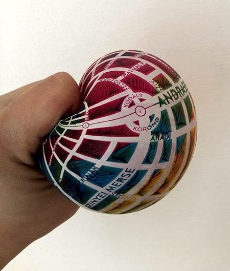 Stress Ball Map