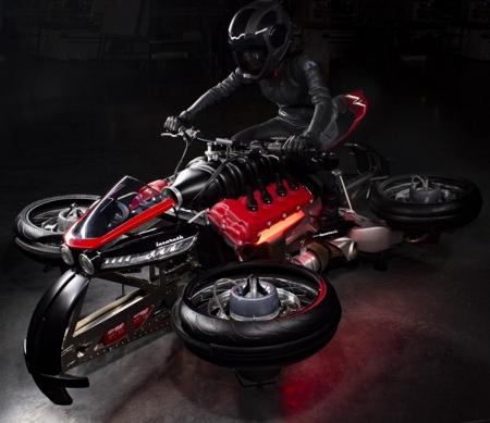 LMV 496 Flying Motorcycle