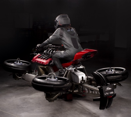 Quadcopter Motorcycle