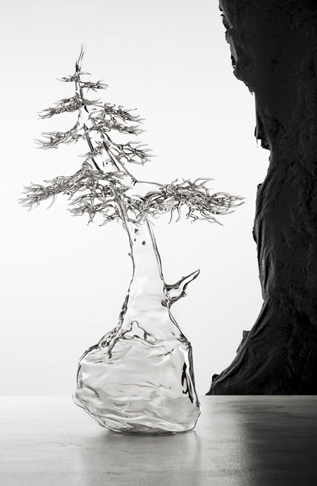Glass Bonsai Tree