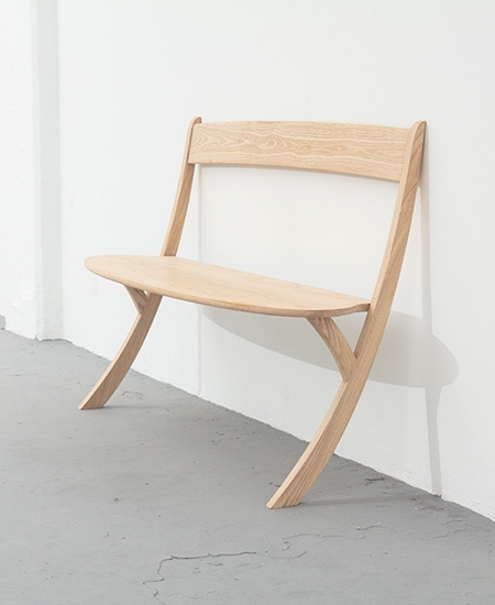 Wall Leaning Bench
