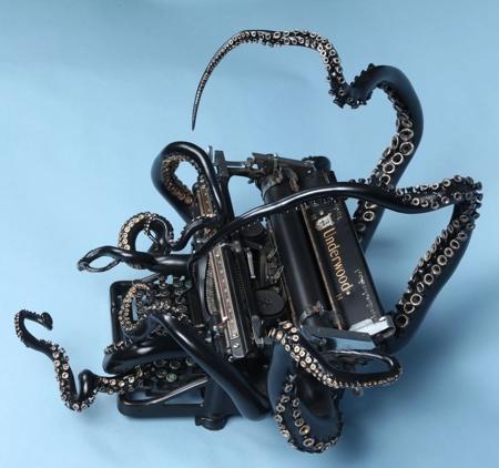 Octopus 1938 Underwood Typewriter