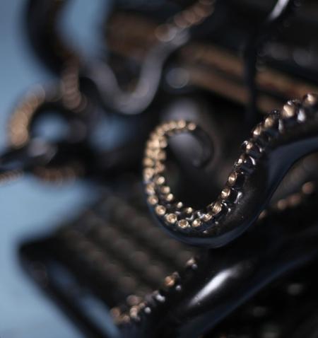 Tentacles Typewriter