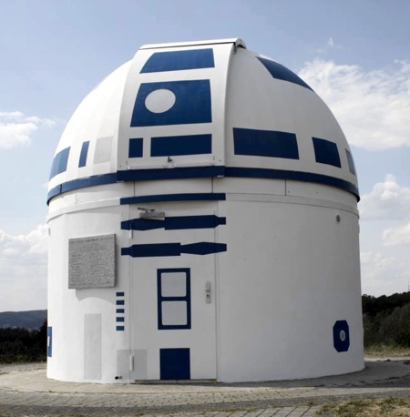 Star Wars R2-D2 Observatory