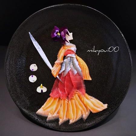 Raw Fish Art