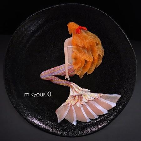 Sashimi Fish Art