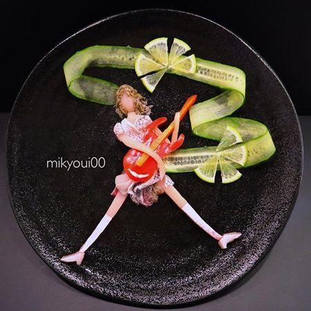 Japanese Raw Fish Art