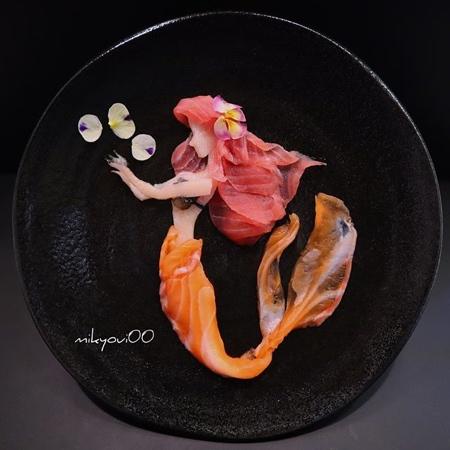 mikyoui00 Sashimi Art