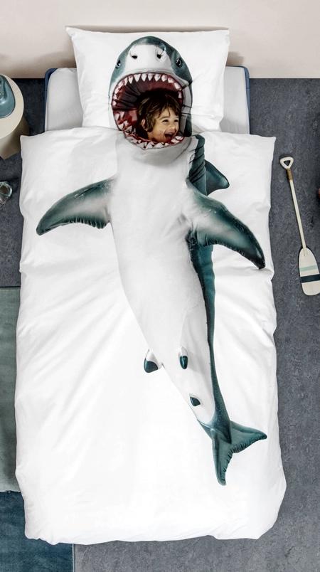 SNURK Shark Bed Sheets