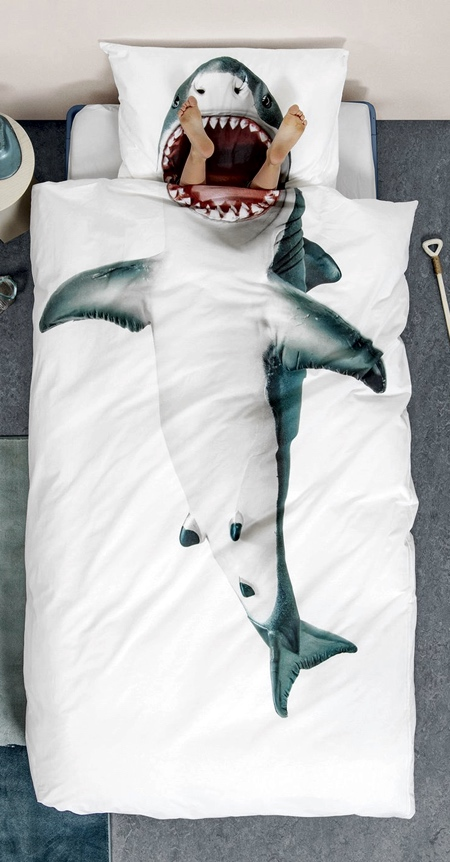Jaws Bed Sheets