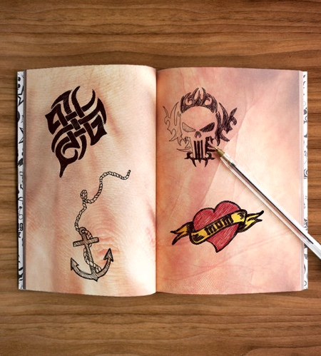 Tattoo Drawing Notebook