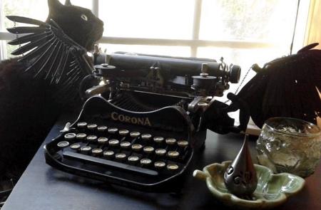 Courtney Brown Typewriter