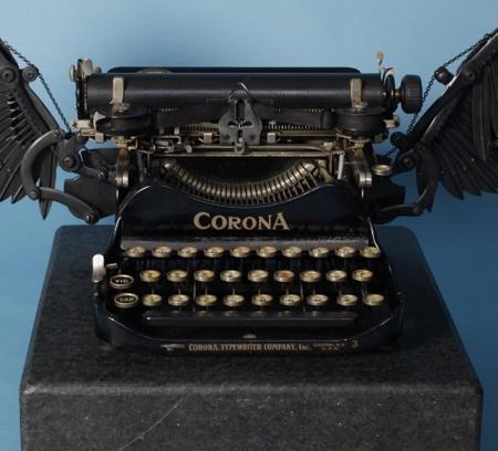 Typewriter Sculpture