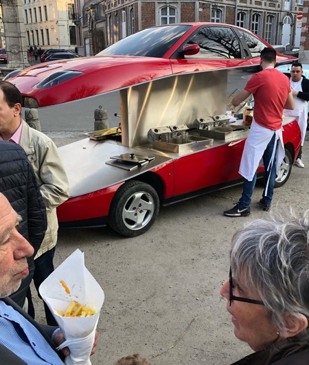 Fries Car