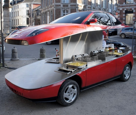 Benedetto Bufalino Food Car