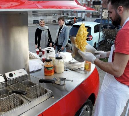 Benedetto Bufalino Fries Car