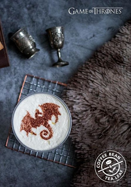 Game of Thrones Latte
