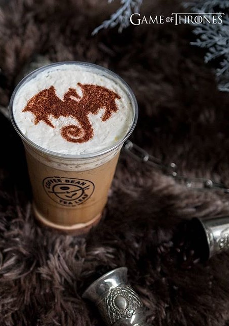 Game of Thrones Latte Coffee