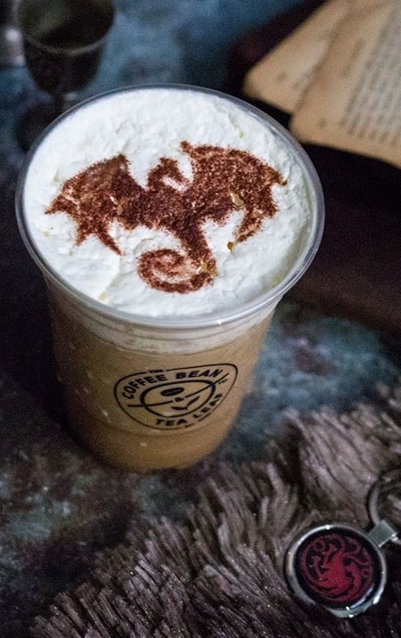 Game of Thrones Coffee Art