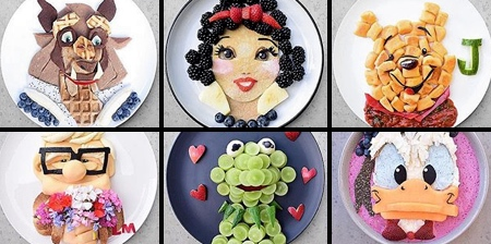 Healthy Food Art