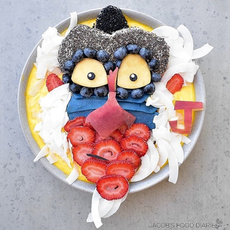 Disney Food Art
