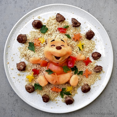 Edible Disney Food Art