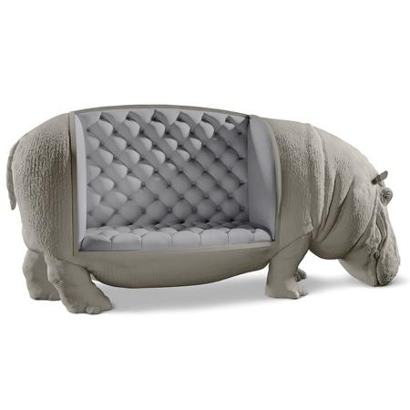 Hippopotamine Sofa