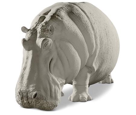 Giant Hippo Sofa