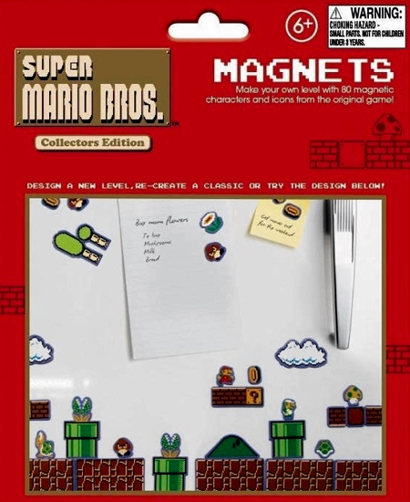 Paladone Super Mario Bros Fridge Magnets