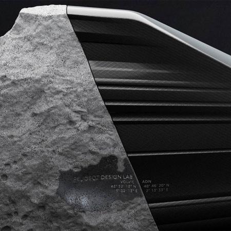 Carbon Fiber Stone Sofa