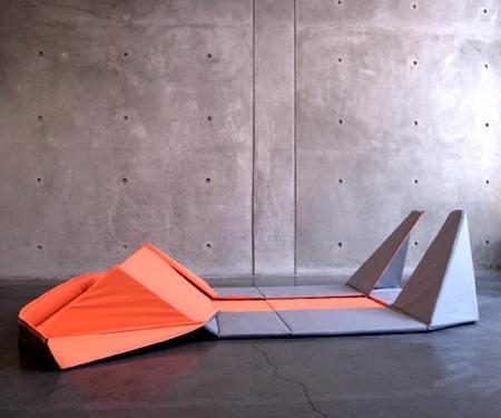Yumi Yoshida Origami Sofa