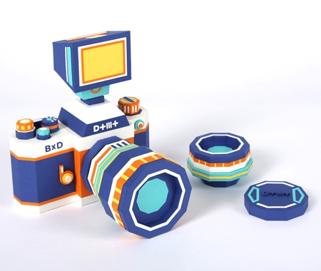 Camera Made of Paper