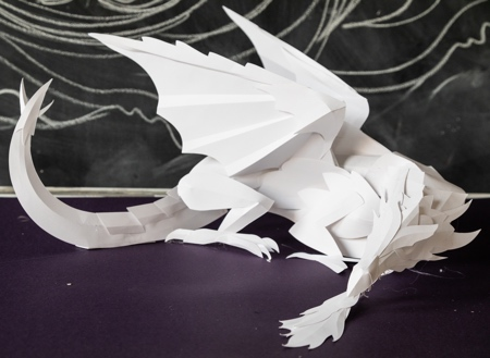 Giant Paper Dragon