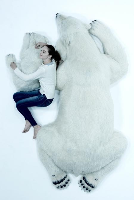 Realistic Polar Bear Toys