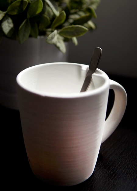 Spoon Holder Coffee Mug