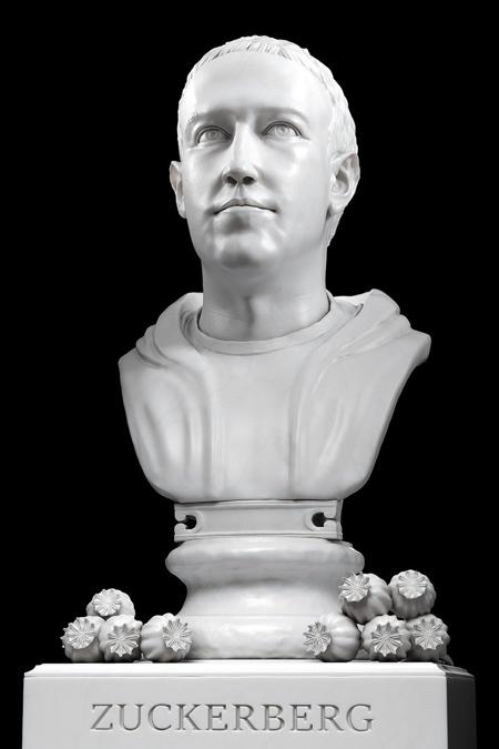 Mark Zuckerberg Statue