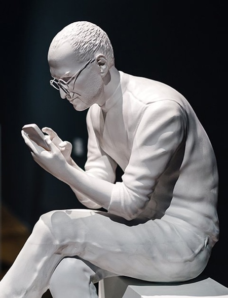 Silicon Valley Statue