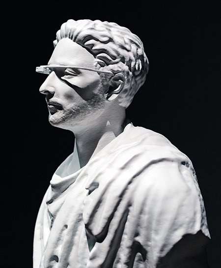 Sergey Brin Statue
