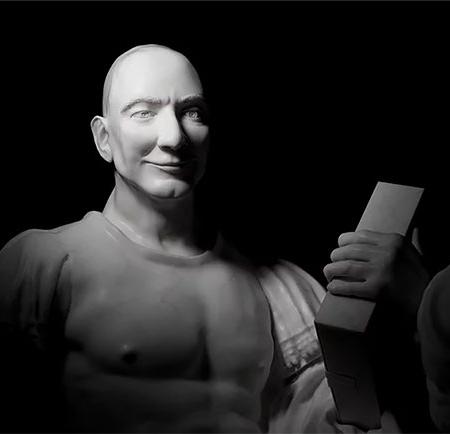 Amazon Statue