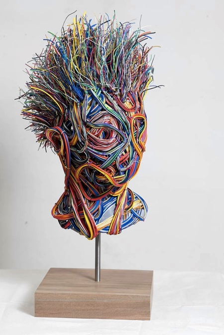 Humans Made of Wire