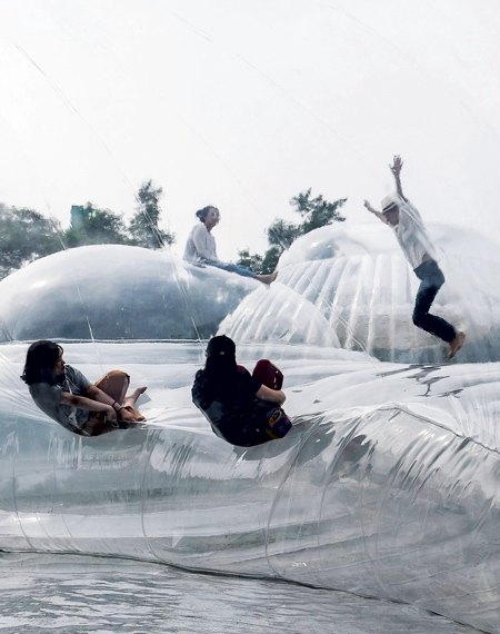 Aether Architects Inflatable Mountain