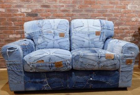 Denim Jeans Sofa