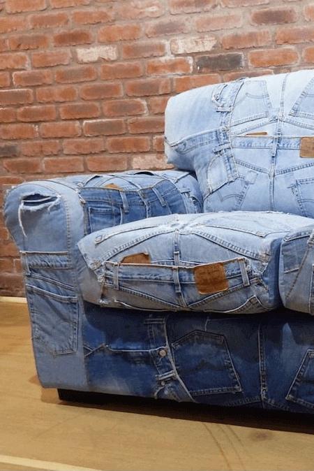 Blue Jeans Sofa