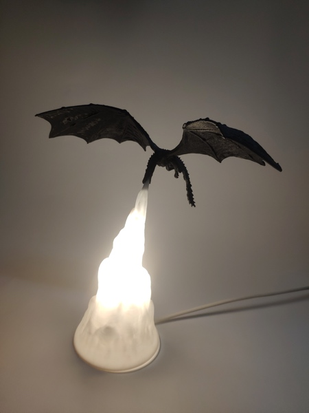 Game of Thrones Dragon Lamp