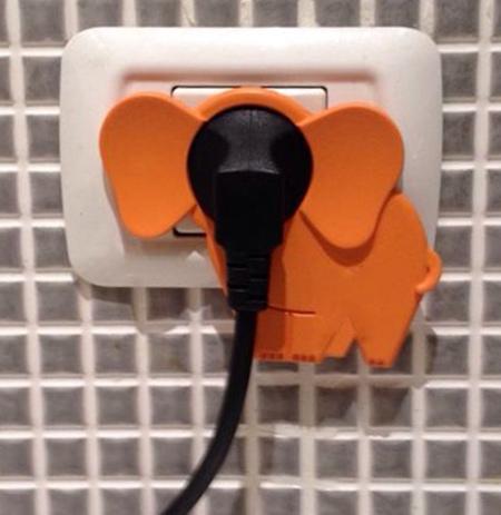 Elephant Electric Plug