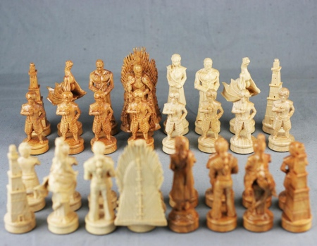 Game of Thrones Wooden Chess Set